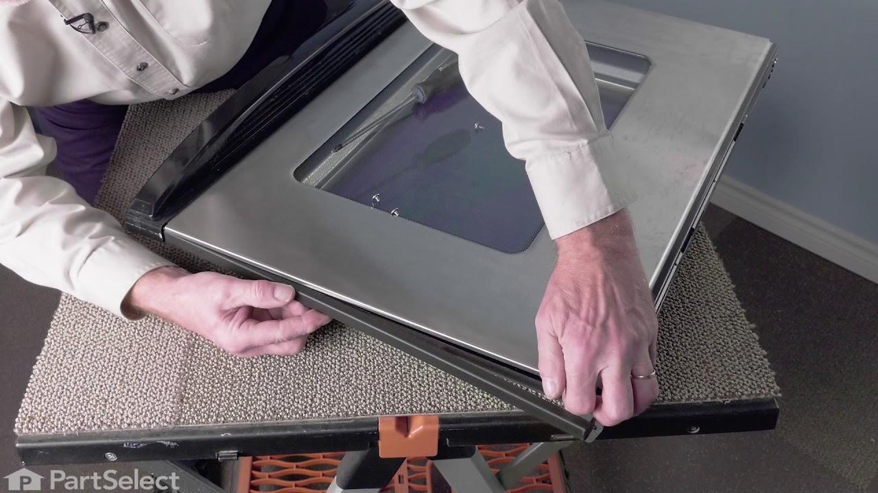 Replacing your Whirlpool Range Door Trim - Left Side - Black