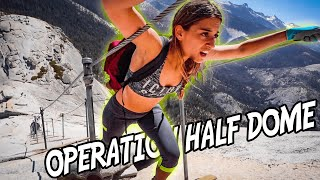 Hiking Half Dome in Yosemite with Zero Experience!