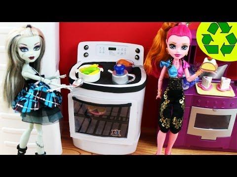 Manualidades para muñecas: Haz una Estufa para muñecas - EP 741 - manualidadesconninos