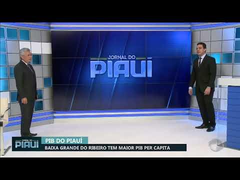 PIB per capita de Baixa Grande do Ribeiro é o maior do Piauí