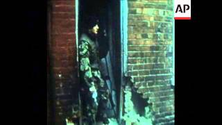 SYND 12 4 73 BRITISH TROOPS COME UNDER FIRE IN BELFAST
