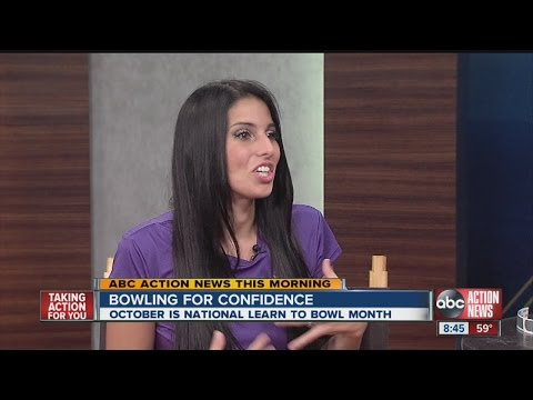 Ashly Galante on National Learn to Bowl Month