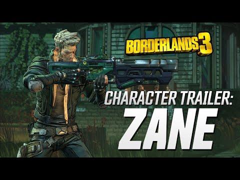 "Borderlands 3 - Zane Character Trailer: ""Friends Like Zane"" thumbnail"