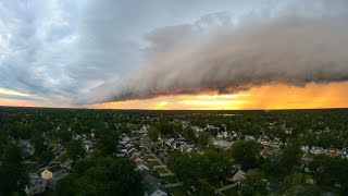 HeliArt Episode 6 [HD Helicam] Awesome Roll Cloud Formation at Sunset