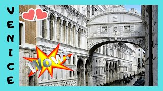 VENICE, Bridge of Sighs: Most famous 😲 bridge that no one gets to cross anymore