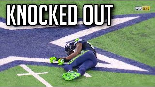 NFL Knocked Out Hits    HD *Warning*