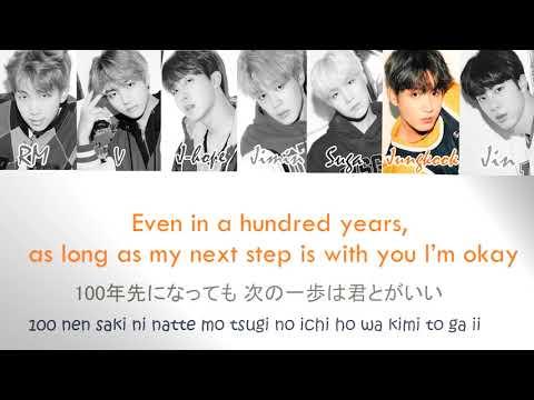 BTS (防弾少年団)  - 'Crystal Snow' Lyrics Video (Romaji/Kanji/English)