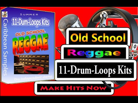 Old School Reggae Drum-Loops/11-Construction Kits/ Independent Sounds.