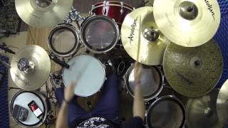 Tangled - Maroon 5 - DRUM COVER - Sala Sessions by Guimadrum