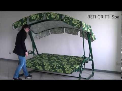 Video Zahradní houpačka Santa Fe 2