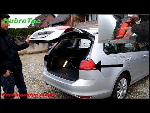 Heckleuchten außen tauschen / Volkswagen Golf 7