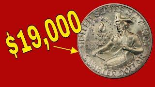 How valuable can a 1976 quarter be? 1976 Bicentennial quarters!