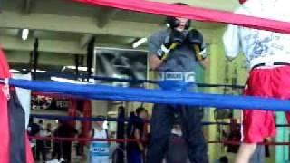 Alberto Melian vs Maxi Marquez en MARTINEZ 01 08 09 ROUND 1