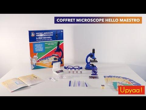 Le microscope 50 expériences Hello Maestro ! UNBOXING