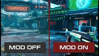 The Outer Worlds - High-end Configs Mod vs Vanilla