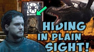 The Secret Inside The Iron Throne! 🛡⚔️ VALYRIAN STEEL THEORY 🗡🔮