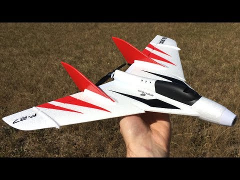 blade-f27-fpv-umx-rc-plane-unboxing-maiden-flight--review--umx-f27-stryker-fpv-flying-wing