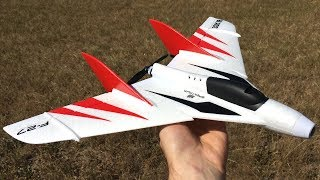 Blade F-27 FPV UMX RC Plane Unboxing, Maiden Flight, & Review - UMX F-27 Stryker FPV Flying Wing