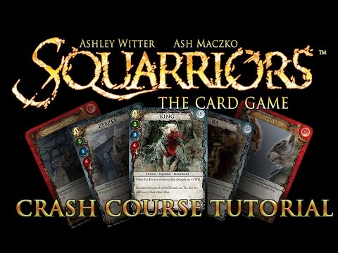 Squarriors: The Card Game