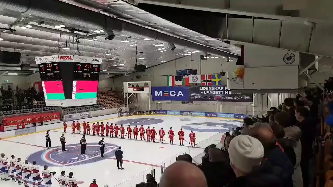 Норвежский вариант  гимна Беларуси