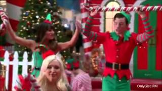 """GLEE """"Here Comes Santa Claus"""" (Full Performance)