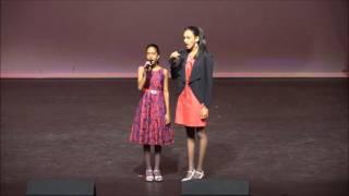 Ealisa Espinoza & Sydney Mohan - National Anthem of Trinidad & Tobago