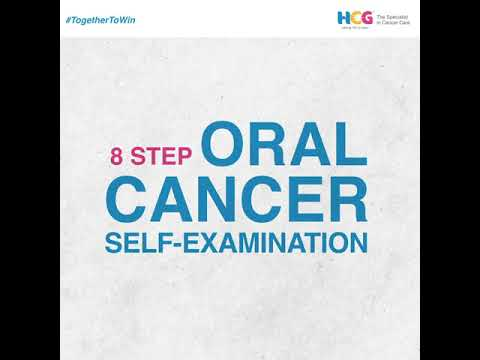 8 Step Self Exam to Detect Oral Cancer Early
