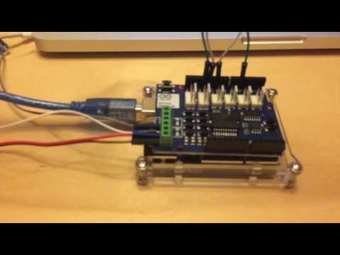 Arduino Based DCC Decoder Operating 8 Relays - смотреть