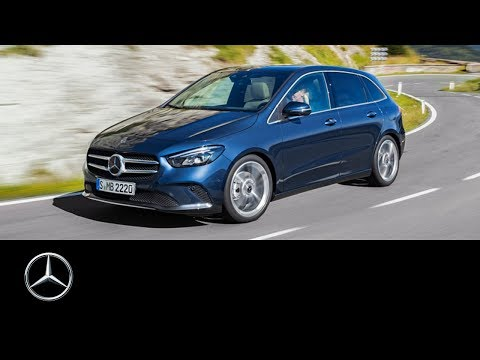 Mercedes Benz  B Class Хетчбек класса B - рекламное видео 1