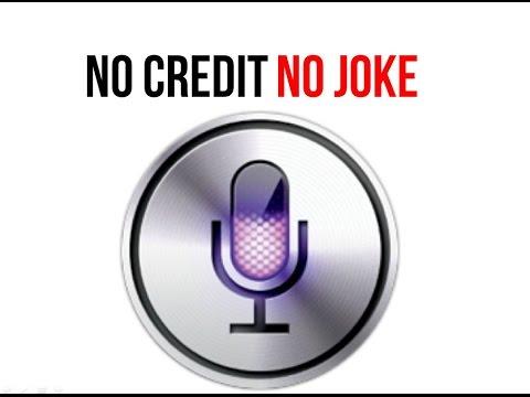 No Credit – No Joke