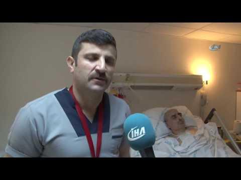 Samsun'da Hastanede Çalışan Temizlik Görevlisinden, Hayat Kurtaran Müdahale