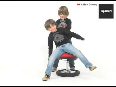 Dannenfelser Kindermöbel GmbH   TOPSTAR Fitnesshocker / Schreibtischstuhl KID-20 ergonomisch