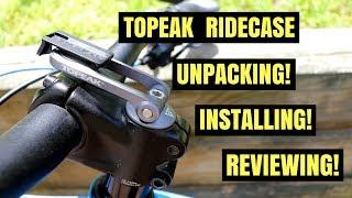 Topeak RideCase Unpacking! Installing! Reviewing!