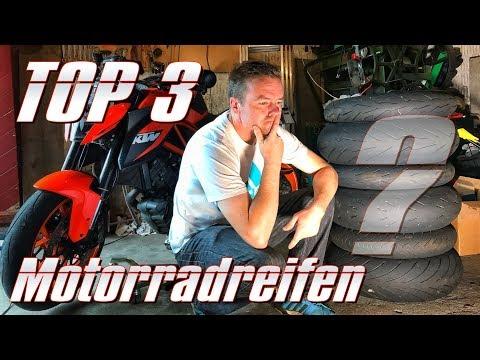 Meine persönlichen TOP 3 Motorradreifen 2016/2017 | KurvenradiusTV