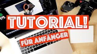 VideoschnittTUTORIALfürANFÄNGER!FinalCutProX10.3DEUTSCH