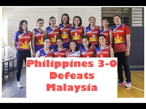 PHILIPPINES VS MALAYSIA ASEAN SCHOOL GAMES 2019 GIRLS VOLLEYBALL