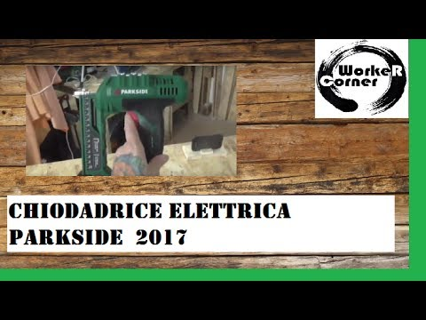 Chiodatrice Parkside 2017