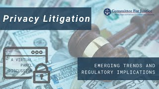 Event Video: Privacy Litigation: Emerging trends and regulatory implications