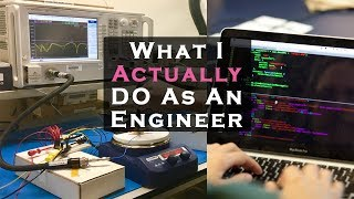 What I actually do as an Electrical Engineer