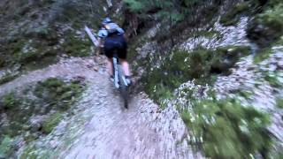 Onboard views of Rim trail, Missouri bar and South Yuba river trail