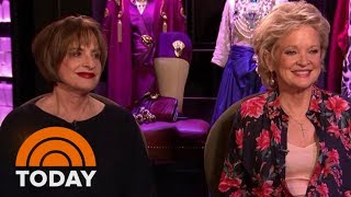 Patti LuPone, Christine Ebersole Talk Backstage At Broadway's 'War Paint' | TODAY
