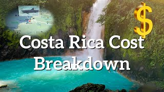 Costa Rica detailed travel cost break down and full itinerary | Two weeks trip EN & GR subtitles