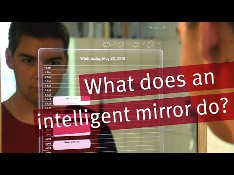 Intelligent Mirror - Demo ready for CEBIT 2018 (in English)