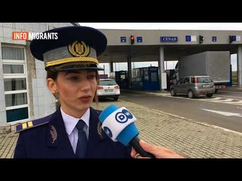 Apprehended at the border: migrants in Romania