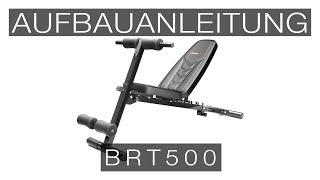 SPORTSTECH BRT500 Rückentrainer - Aufbauanleitung/construction/structure/estructura/struttura