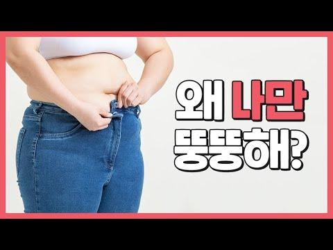 꽃과나무다이어트_ 왜 나만 뚱뚱해?