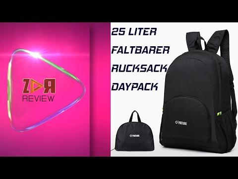 25L Faltbarer Rucksack Daypack Leichter Tagesrucksack