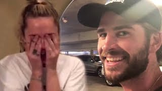 Liam Scaring Miley For 2 Straight Minutes!!! (FUNNY MOMENTS)
