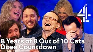 ALL TIME FUNNIEST MOMENTS from 8 YEARS of 8 Out of 10 Cats Does Countdown!!