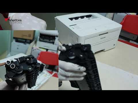 Hướng dẫn đổ mực, reset hộp mực máy in Ricoh SP 230dnw